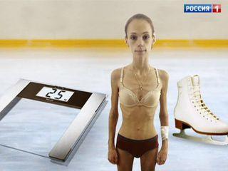 Прямой эфир. Рекордное похудение: знаменитую фигуристку убивает голодная диета