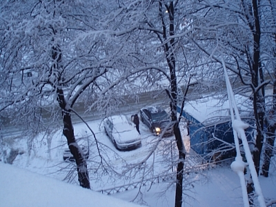6 тысяч техники вышло на московские улицы после снегопада
