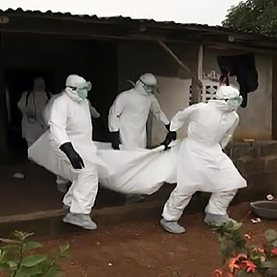 Германские добровольцы готовятся противостоять эпидемии Эбола