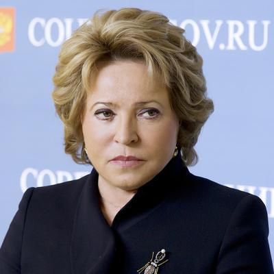 Валентина Матвиенко против установления квот для женщин в органах власти