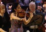 Сара Чанг выступила в Московской консерватории