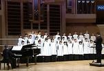 В Москве выступил хор мальчиков