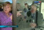 Владимир Путин и Ангела Меркель посетили Эрмитаж