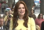 Звезда Джулианы Мур зажглась на Аллее славы Голливуда