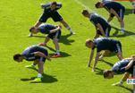 Как тренируются российские футболисты перед чемпионатом мира