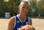 Анна Лешковцева провела мастер-класс по стритболу
