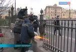 В Петербурге восстановили часть решетки Летнего сада