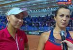 Анастасия Павлюченкова: Нам помогла мотивация