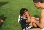 Тренировку Роналду с сыном растиражировали в интернете