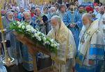 Патриарх Кирилл совершил праздничную литургию в Успенском соборе Кремля