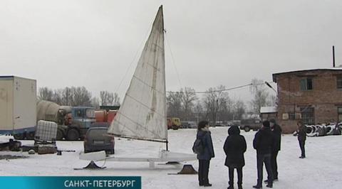 В Северной столице энтузиасты возрождают военные буера