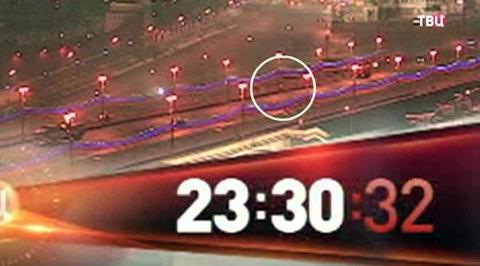 Камера наблюдения зафиксировала момент убийства Немцова