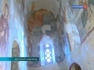 Завершен очередной этап восстановления фресок церкви Спаса на Нередице