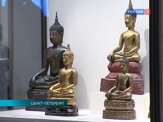 Скульптура Юго-Восточной Азии VII – XX веков выставлена в Эрмитаже