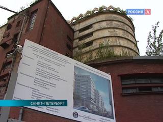 Петербрургский памятник конструктивизма скроется за новостройкой