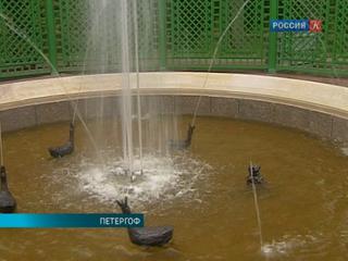 В Петергофе отреставрировали один из самых любимых фонтанов Екатерины Первой