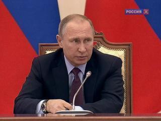 Путин призвал улучшить меры поддержки молодых отечественных ученых