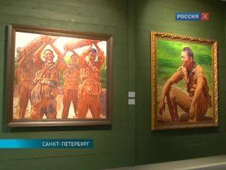 Работы современных китайских военных художников представлены в Санкт-Петербурге