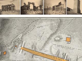 Создана интерактивная карта с описанием уничтоженных памятников древней Пальмиры