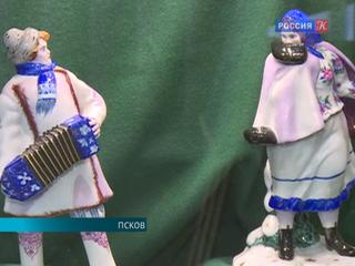 Псковский музей проводит выставку двух работ Бориса Кустодиева на тему Масленицы