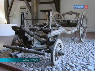 В Архангельске реставрируют карету Иоанна VI