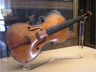 В Петербурге представили скрипку