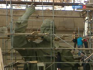 Готова модель памятника князю Владимиру, который установят на Воробьёвых горах