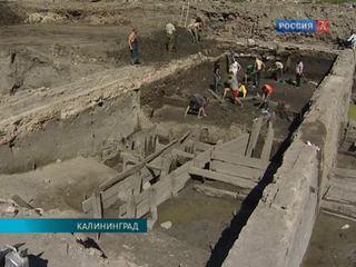 В центре Калининграда продолжаются археологические раскопки