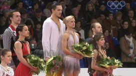 Российские фигуристы заняли весь пьедестал почета чемпионата Европы