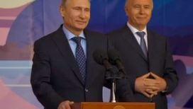 Владимир Путин посетил стройку стадиона в Самаре