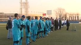 В Петербурге прошел матч с участием чемпионов 1984 года