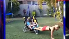 Экстремальные тренировки с маленькими детьми