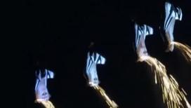 Парашютисты устроили в небе световое шоу