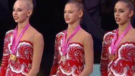 Художественная гимнастика. Россия победила в командных соревнованиях