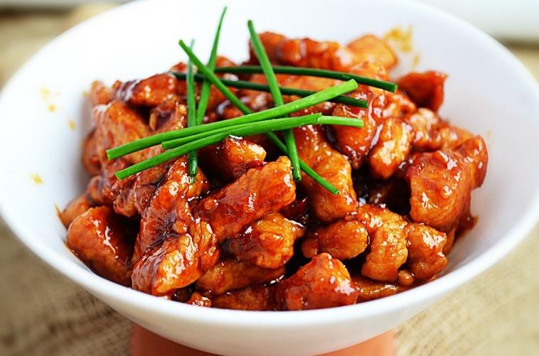 Мясо в соевом соусе рецепт с фото