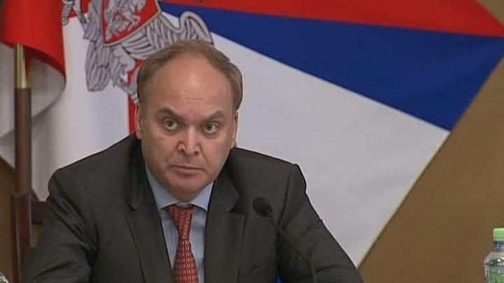 """""""OTAN empurra Kiev numa linha de frente de confrontação com a Rússia"""" – Anatoly Antonov"""