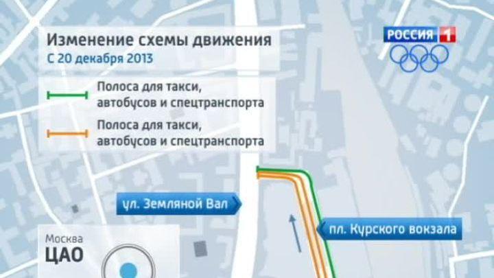 Схема въезда на площадь