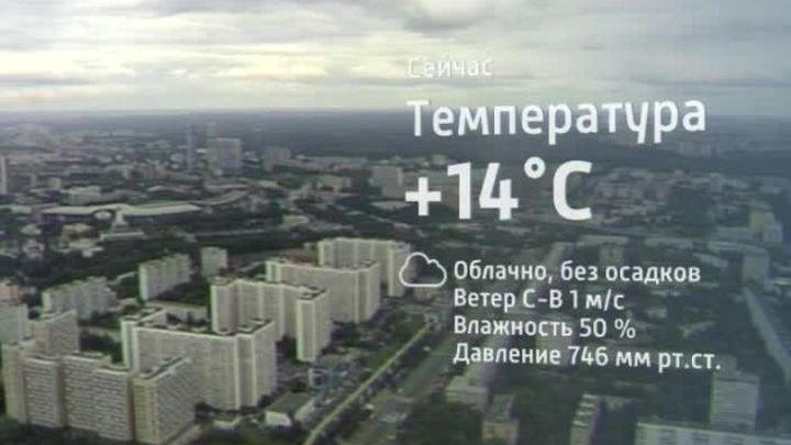 Реальная погода в Москве - Realmeteo ru